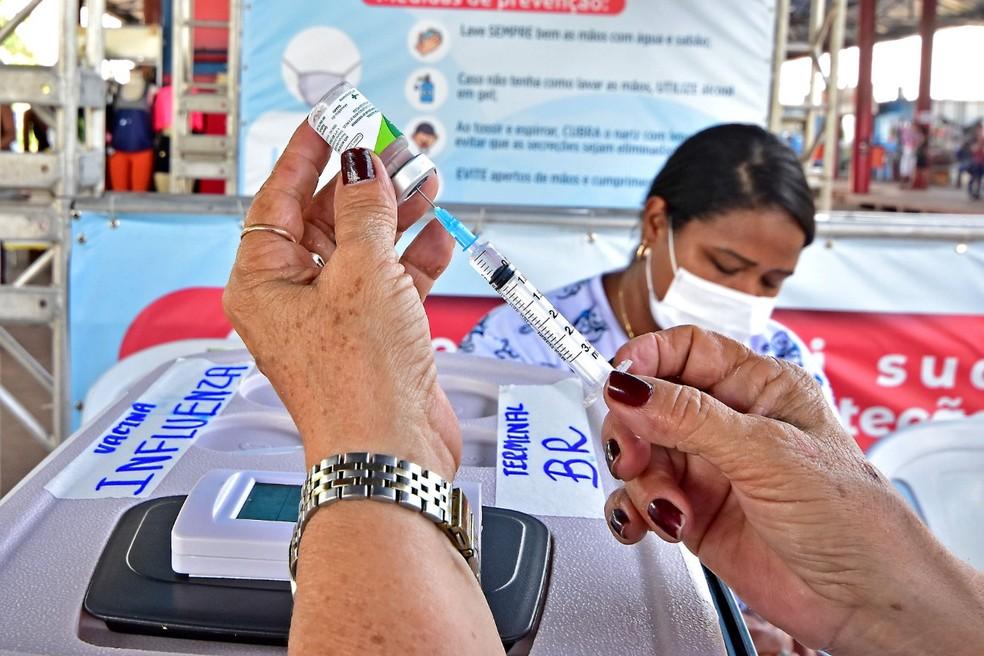 São Luís inicia terceira etapa da vacinação contra a Influenza nesta quarta-feira (9) — Foto: Divulgação/Prefeitura de São Luís