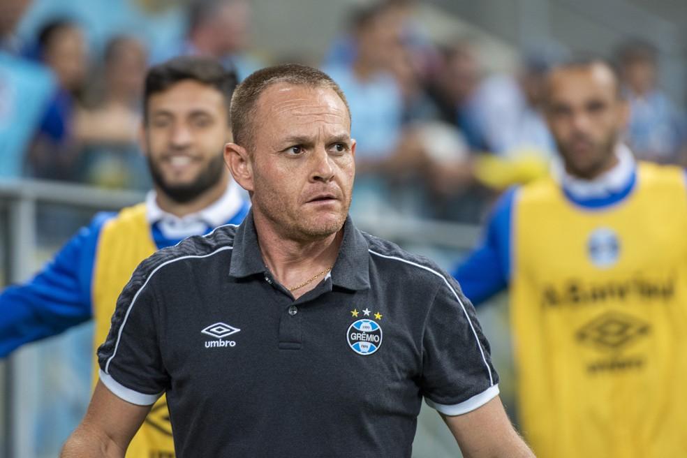 Preparador físico do Grêmio, Rogério Dias, o Rogerinho — Foto: Pérsio Ciulla | TXT Sports