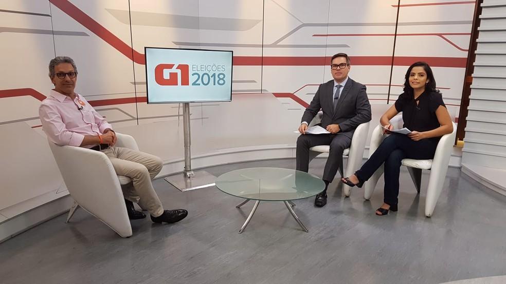 Romeu Zema afirmou em entrevista ao G1 que não conhecia a Funed — Foto: Humberto Trajano/G1