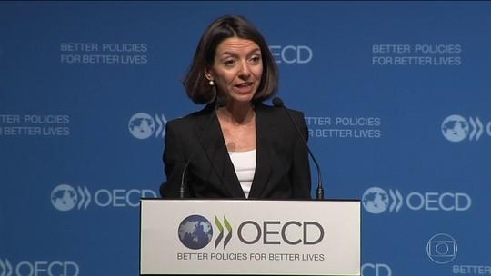 OCDE reduz previsões de crescimento de economias mundiais