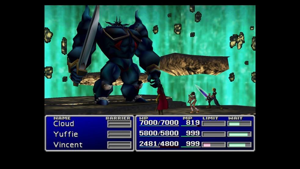 Final Fantasy 7 é um clássico RPG — Foto: Divulgação/Square Enix