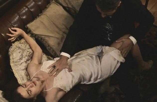 Selton Mello foi o sedutor Augusto, de 'Ligações perigosas', e conquistou Mariana (Marjorie Estiano) (Foto: Reprodução)