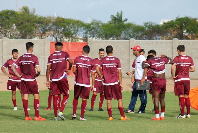 América-RN - coletivo jogadores - Felipe Surian (Foto: Canindé Pereira/América FC/Divulgação)