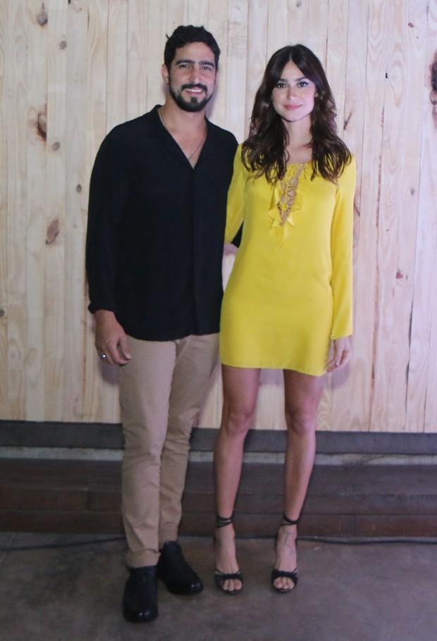Thaila Ayala e Renato Góes (Foto: Daniel Pinheiro/AgNews)