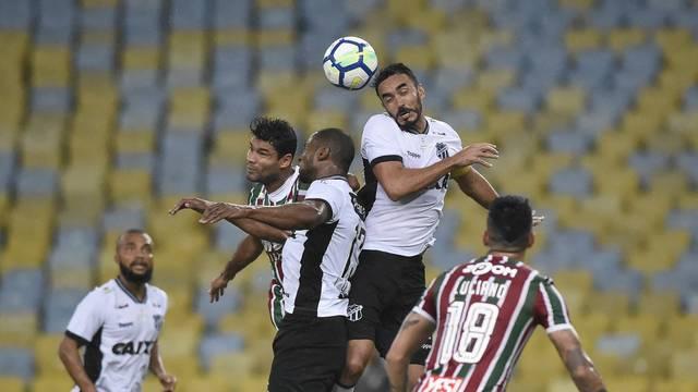 Fluminense e Ceará ficaram no 0 a 0 nesta segunda-feira no Maracanã