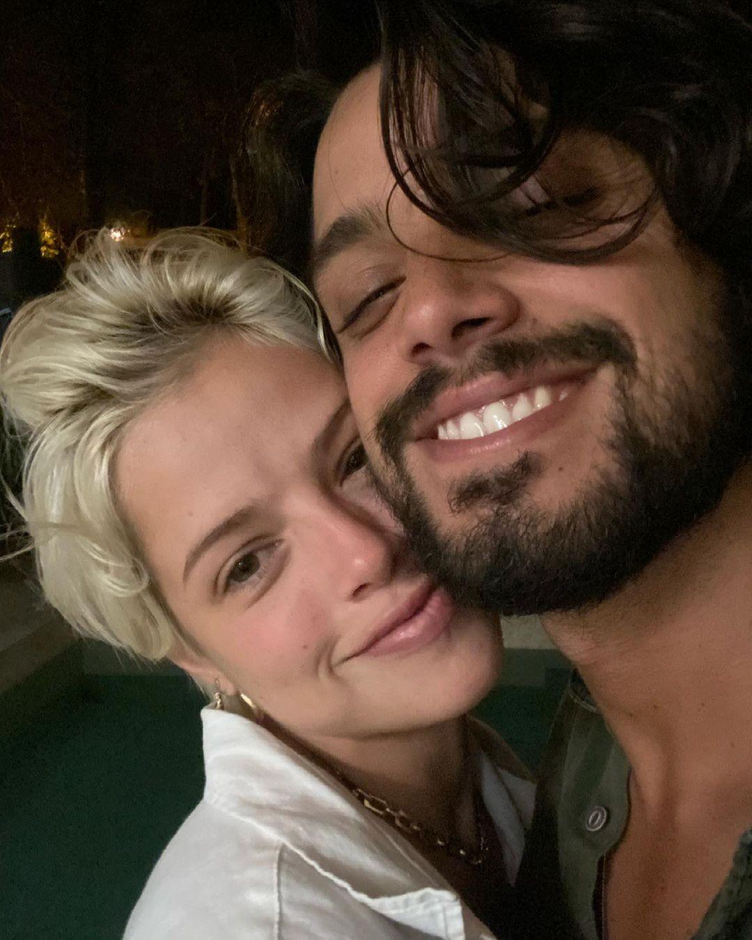 Agatha Moreira e Rodrigo Simas  (Foto: Reprodução/Instagram)