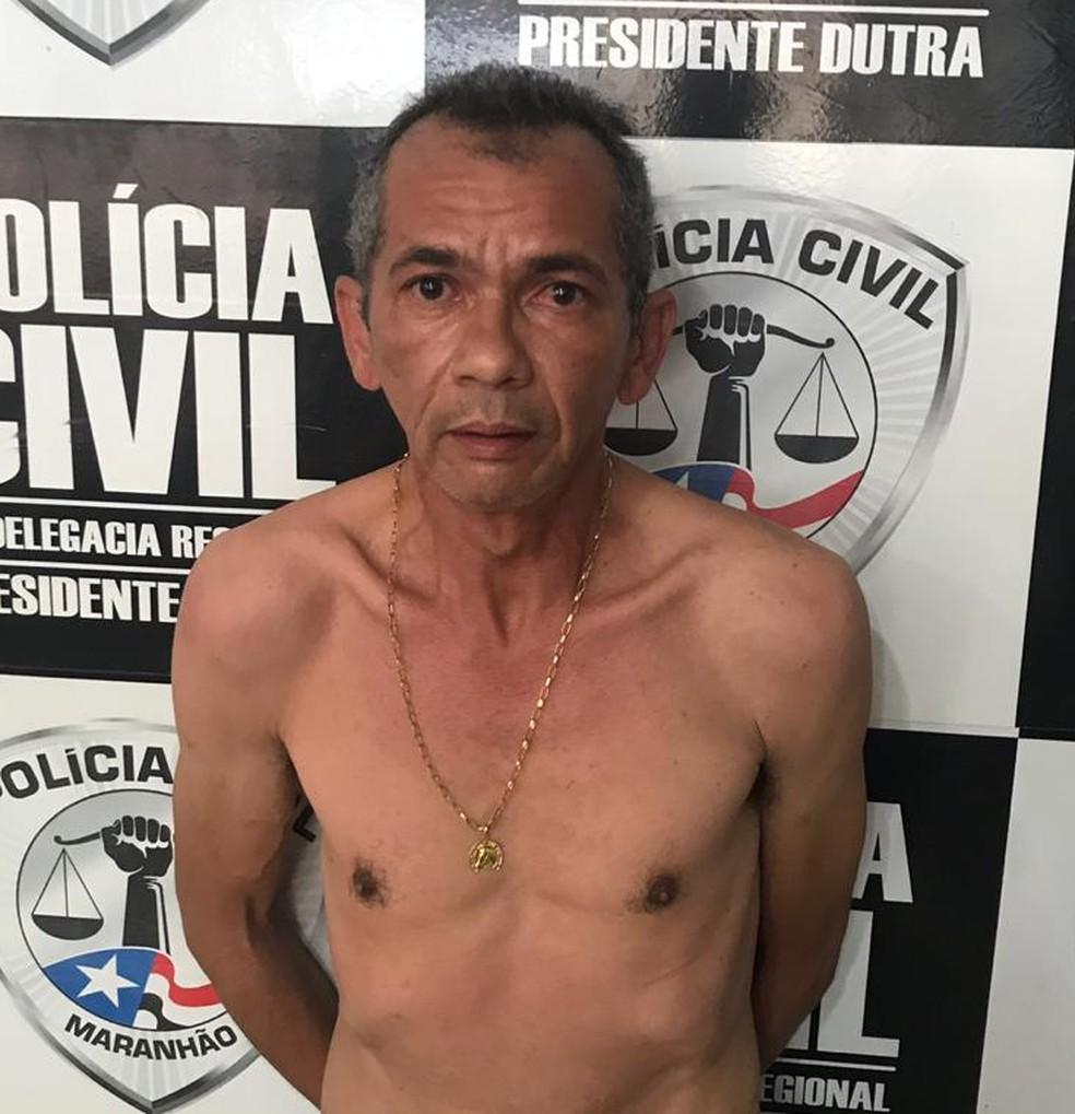 Bartolomeu Ribeiro da Silva é suspeito de ser o mentor intelectual do assassinato da empresária Rayra Santos Feitosa, em Presidente Dutra — Foto: Divulgação/Polícia Civil