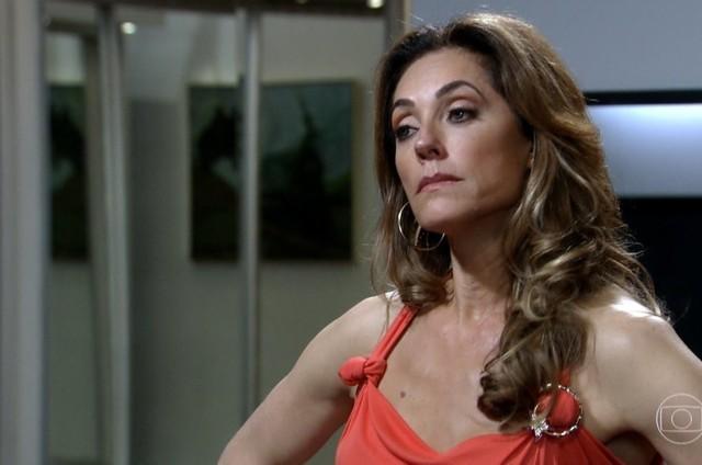 Christiane Torloni como Tereza Cristina em cena de 'Fina estampa' (Foto: Reprodução)