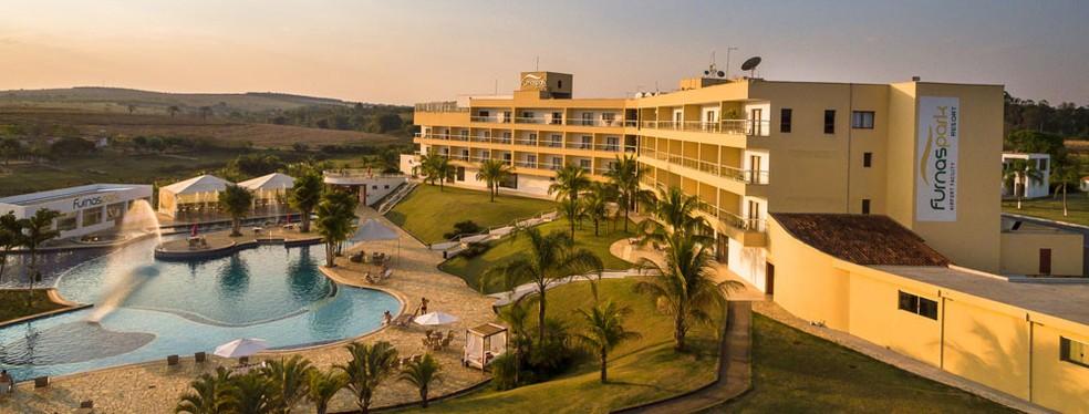 Resort é localizado em Formiga (Foto: Divulgação/Furnaspark)
