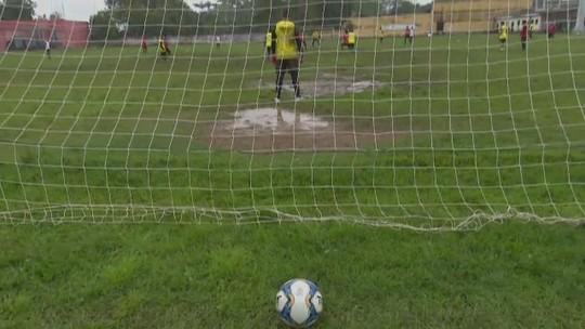 Alcione se apresenta confiante, mas se machuca no 1º treino e não enfrenta o Santos-AP