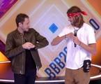 Eliminado, Daniel conversa com Tiago Leifert no 'BBB' | Reprodução