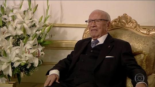 Primeiro presidente eleito democraticamente da Tunísia morre aos 92 anos