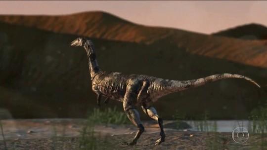 Pesquisadores descobrem espécie inédita de dinossauro no noroeste do Paraná
