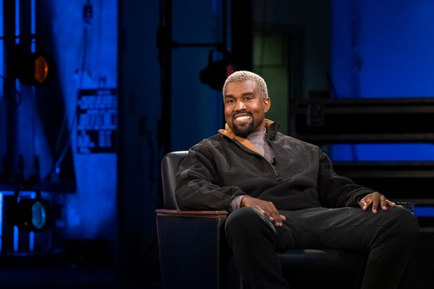 Kanye West no programa My Next Guest Needs No Introduction (Foto: reprodução)