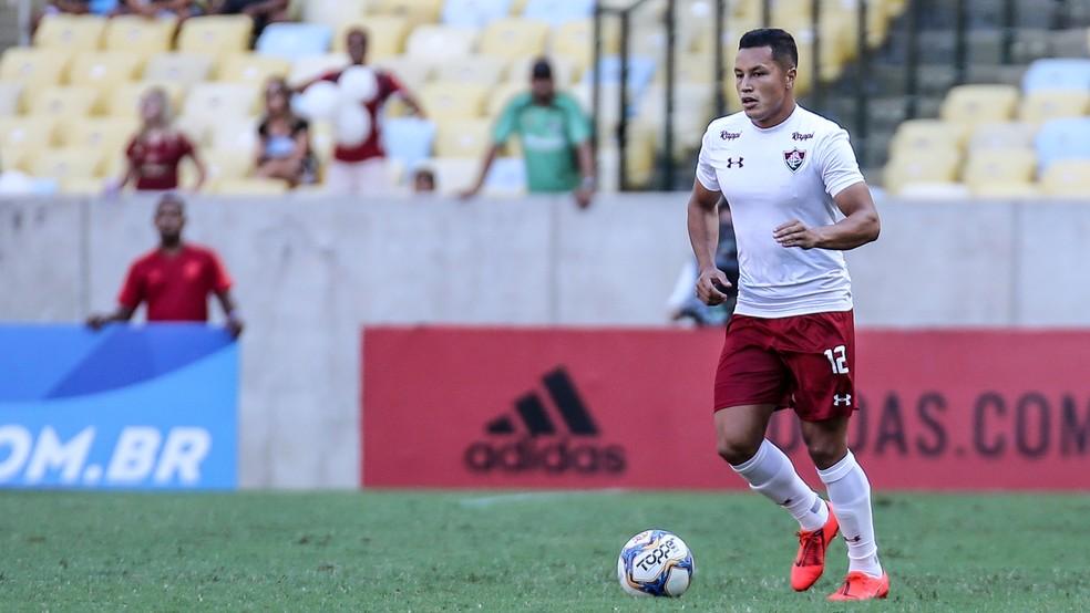 Marlon em Fluminense x Flamengo — Foto: Lucas Merçon/Fluminense