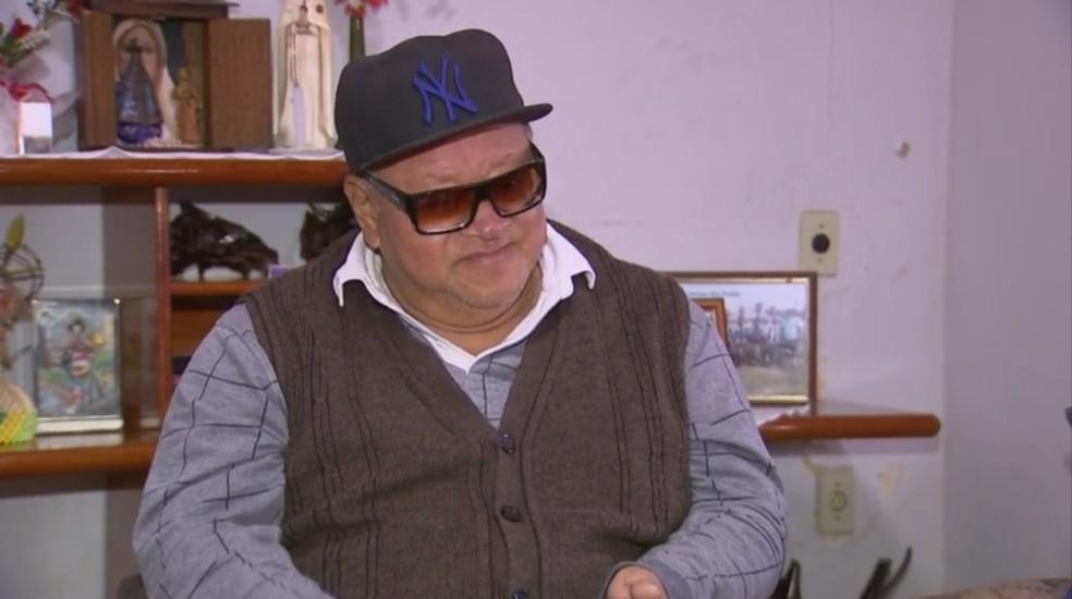 Cadeirante de São Miguel Arcanjo conta como foi assaltado em São Miguel Arcanjo (Foto: Reprodução/TV TEM)