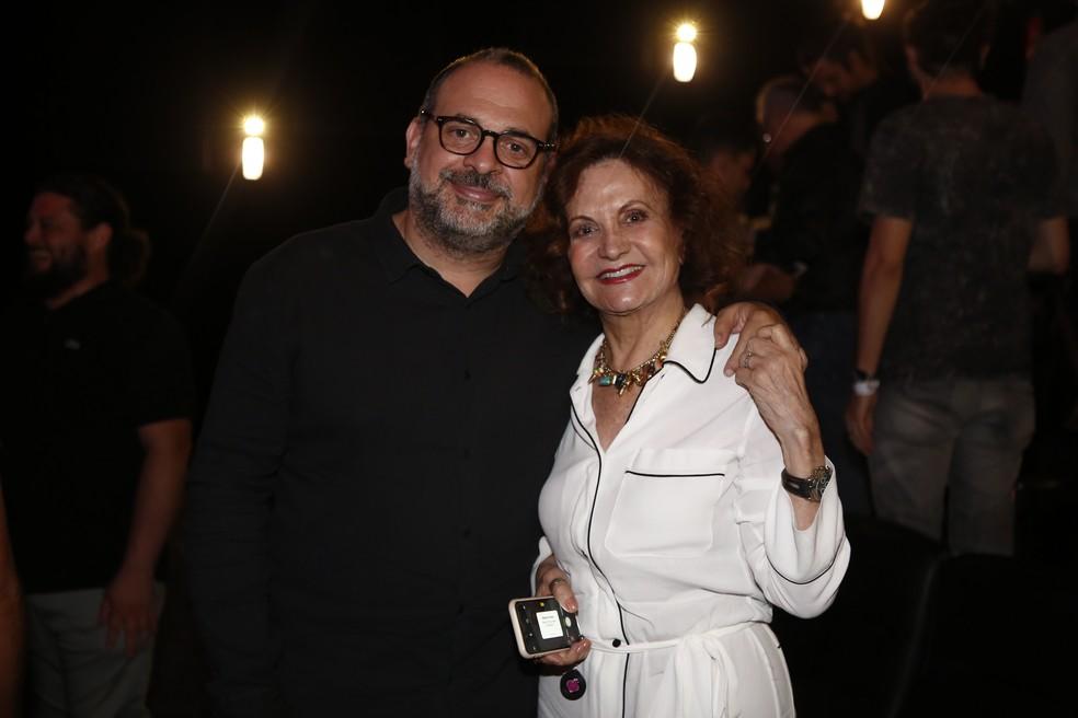 Fabrício Mamberti e Rosamaria Murtinho (Foto: Artur Meninea)