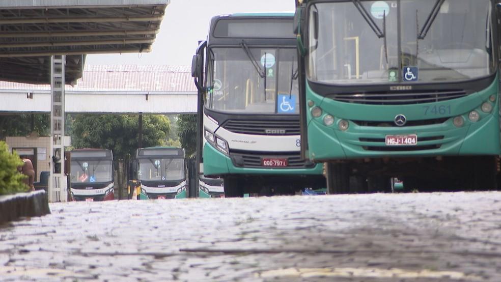 Ônibus terão novo trajeto no Shopping Park, em Uberlândia — Foto: Reprodução/TV Integração