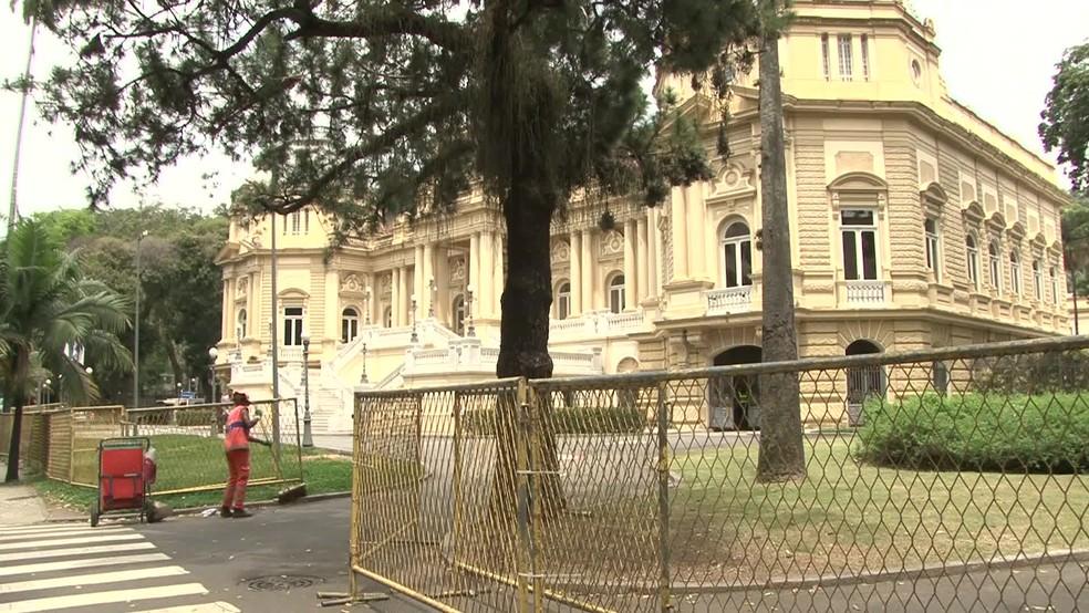 Palácio Guanabara sede do governo do RJ (Foto: Andressa Gonçalves/ G1)