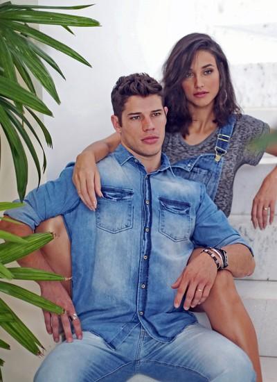 Débora Nascimento e José Loreto se casaram, novamente, mês passado, sem fazer alarde (Foto: André Nicolau)