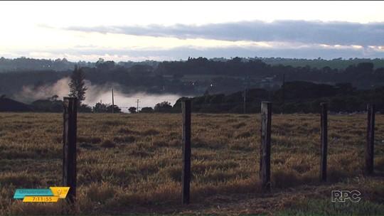 Temperaturas caem em todo o Paraná, e Curitiba tem a manhã mais fria do ano nesta segunda