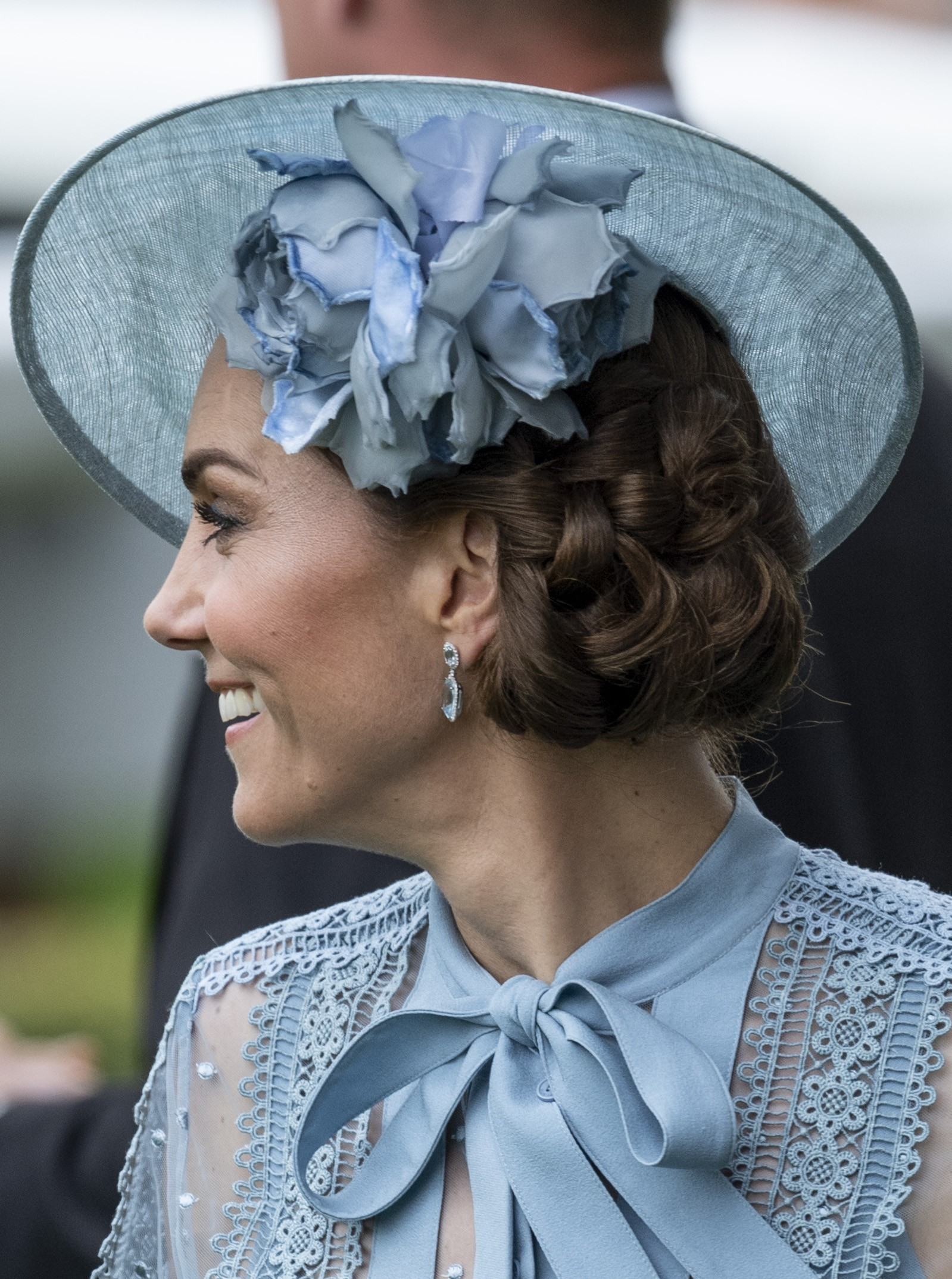 Kate Middleton chega ao Royal Ascot (Foto: Getty Images)