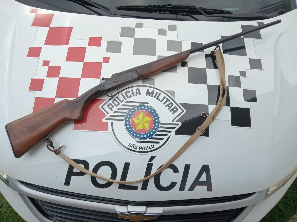 Homem é preso por disparar contra esposa e filhos na zona rural de São José dos Campos