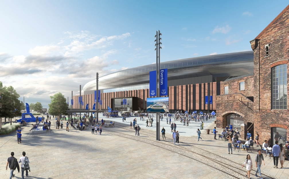 The expectation is that the new stadium will be ready within three years of construction - Photo: Disclosure / Everton