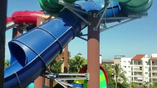 Turista morre ao cair em novo  toboágua no Beach Park