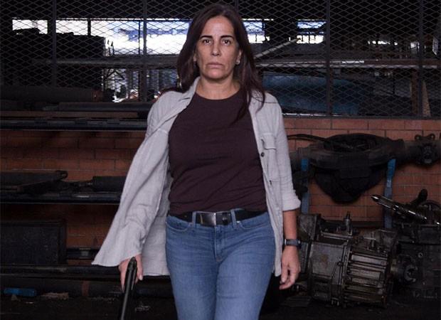 Gloria Pires filma longa-metragem A Suspeita (Foto: Reprodução/Instagram)