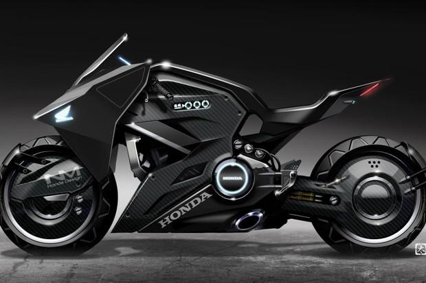 honda cria moto futurista para o filme a vigilante do amanh auto esporte not cias. Black Bedroom Furniture Sets. Home Design Ideas
