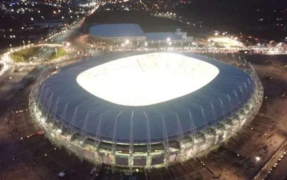 Ceará e Corinthians jogam na 37ª rodada da Série A do Campeonato Brasileiro. — Foto: Reprodução