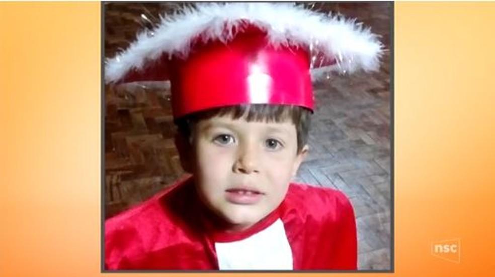 Murilo tinha sete anos e havia se mudado para Palhoça há poucos meses (Foto: Reprodução NSC TV)