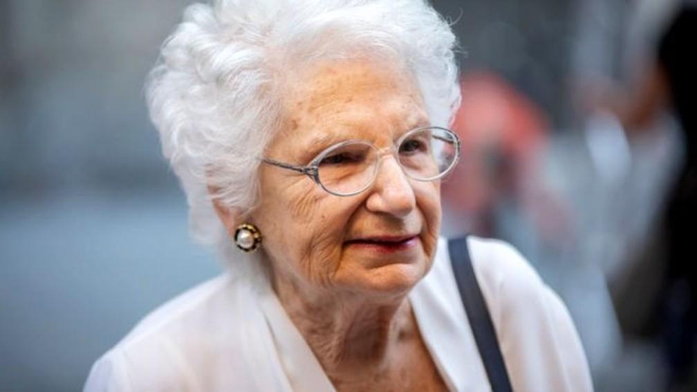 Liliana Segre relatou ter recebido cerca de 200 mensagens de �dio por dia � Foto: BBC/Getty Images