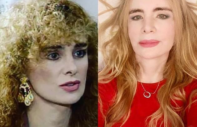 Isis de Oliveira, irmã de Luma, interpretou a socialite Mimi Toledo. O último trabalho da atriz na Globo foi em 1997, no 'Você decide' (Foto: TV Globo - Reprodução/Instagram)