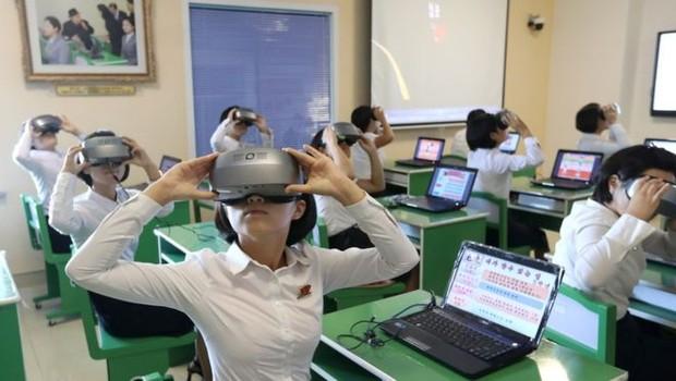 A Coreia do Norte tem celebrado seus avanços tecnológicos (Foto: Getty Images via BBC)