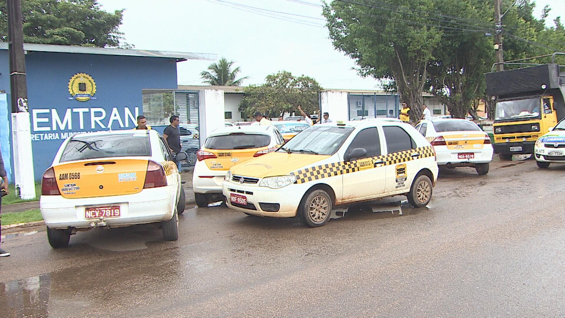 Taxistas pedem mais uma vez a legalização do táxi compartilhado em Porto Velho