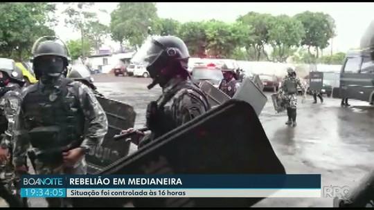 Presos fazem rebelião na cadeia pública de Medianeira