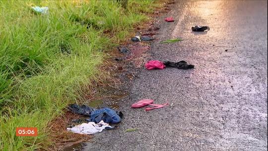 Cinco pessoas da mesma família são atropeladas em Uberlândia (MG)