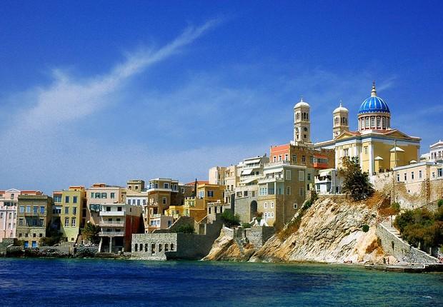 St. Nicolas and Vaporia district, Syros island, Greece (Foto: Wikipedia)