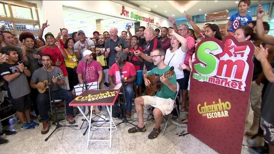 Alegria geral: é o Cafezinho do Escobar em Campo Grande