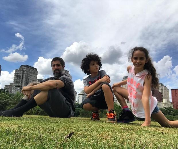 Para Marcos Mion, é preciso respeitar o tempo das crianças, sem pressa (Foto: Reprodução Instagram)