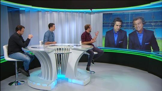 """Comentaristas elogiam Grêmio x Atlético-PR com 68% de bola rolando: """"Encheu os olhos"""""""