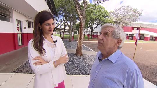 Andréia Sadi entrevista o ministro Augusto Heleno