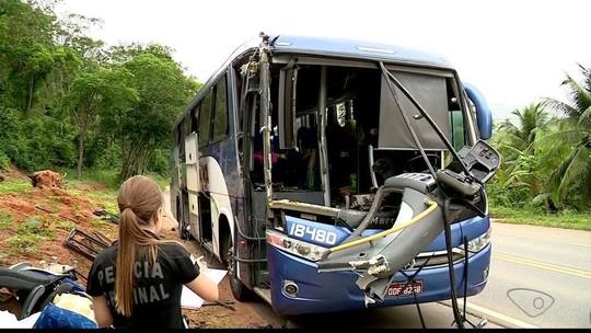 Motorista de caminhão envolvido em acidente no ES estava com habilitação vencida