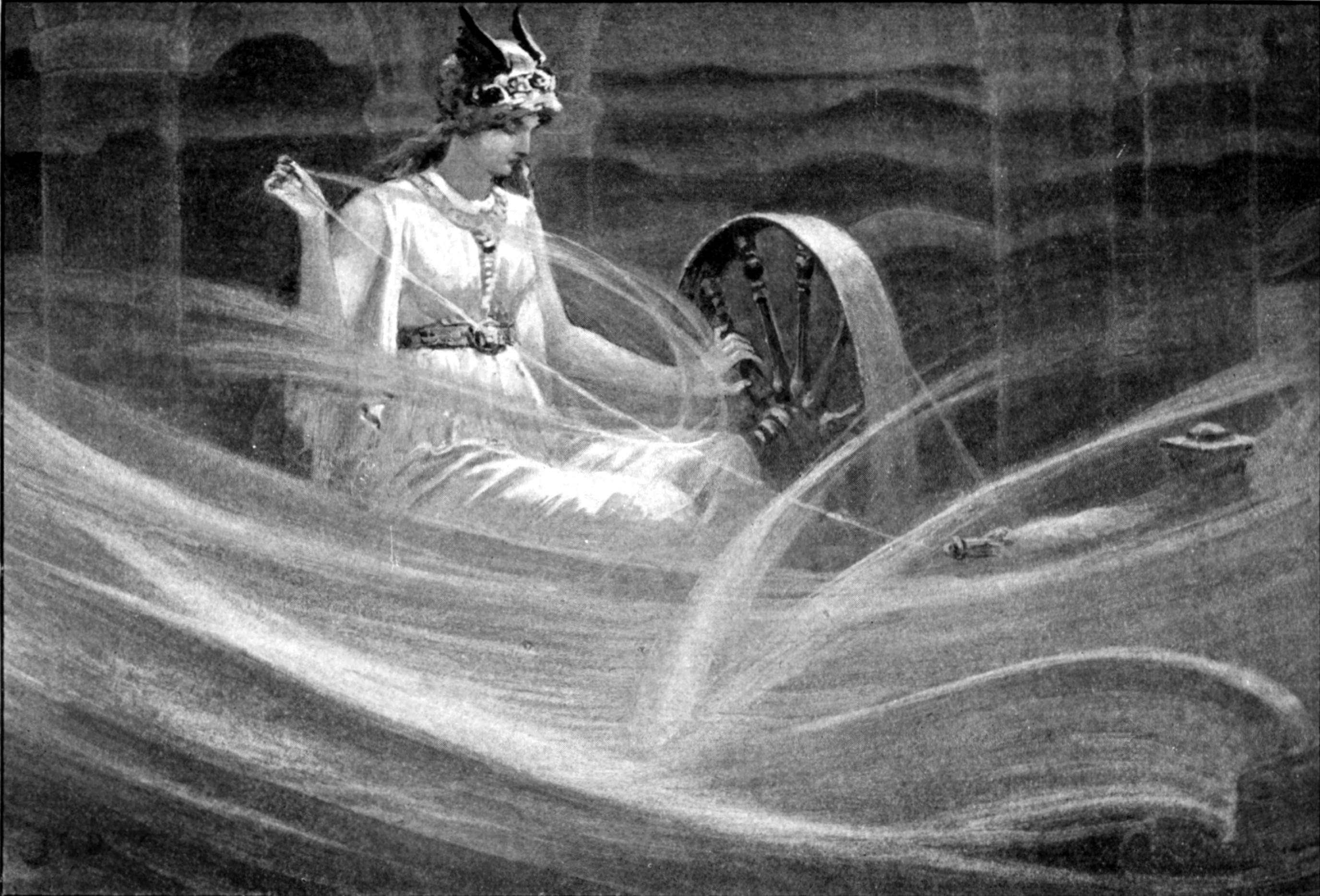 Como a mitologia transformou Frigga em uma lenda justificando a superstição por trás do número 13 (Foto: Wikimedia/John Charles Dollman )