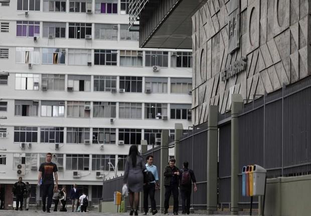 Sede da Petrobras no Rio de Janeiro, Brasi (Foto: Ricardo Moraes/Reuters)