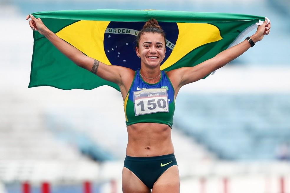 Érica Sena marcha atlética — Foto: Divulgação