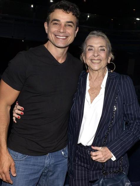 Anderson Di Rizzi e Betty Faria  (Foto: Cristina Granato)