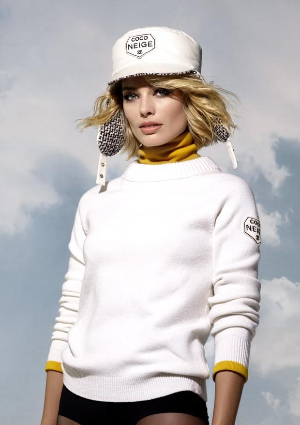 Margot Robbie para a Chanel (Foto: Divulgação)